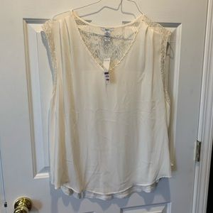 Bar 111 cream top new with tags